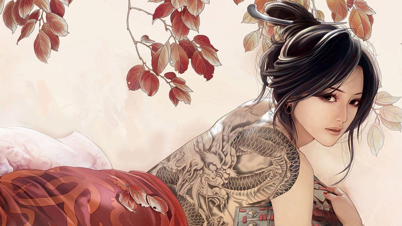 Японское аниме топлес 8 фотография