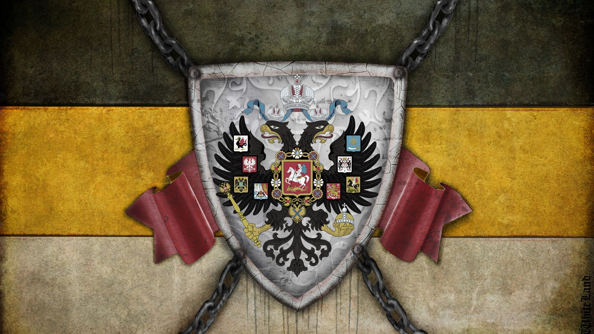 Флаг или герб днр обои на андроид