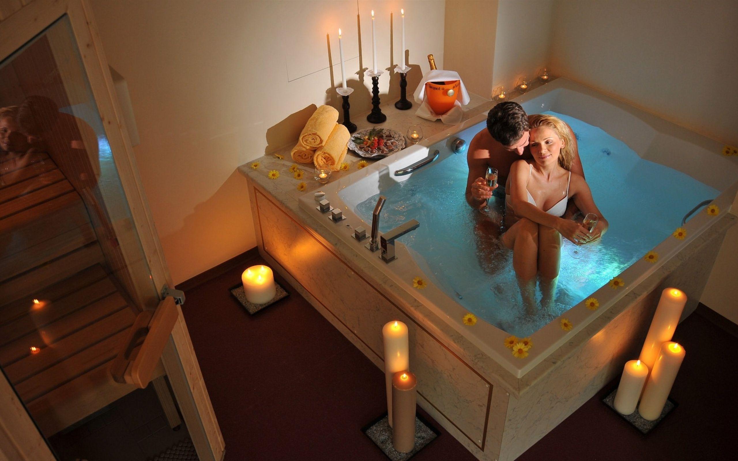 Как сделать ванну для любимого