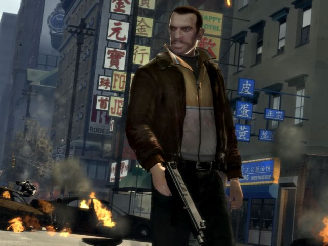 Grand Theft Auto IV новый официальный патч v.1.0.0.4 для русской верси