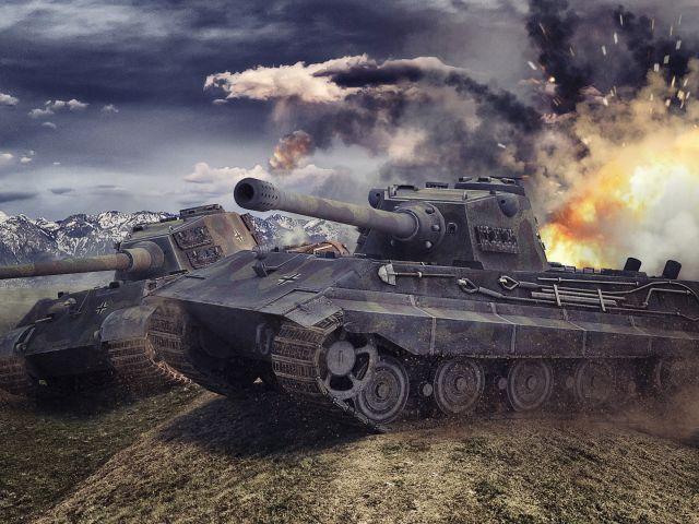 Зоны пробития Е 75 World of Tanks - Видео гайд по слабым зонам и расположен